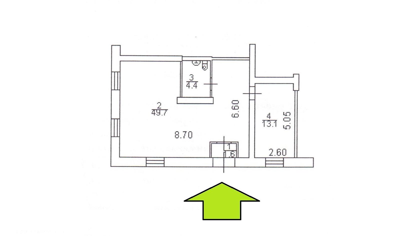 Сдам торговую площадь, 68,8м²