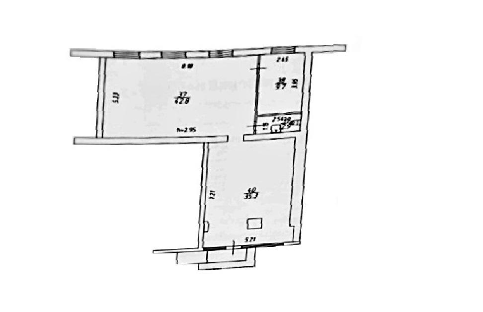 Сдам торговую площадь, 91м²