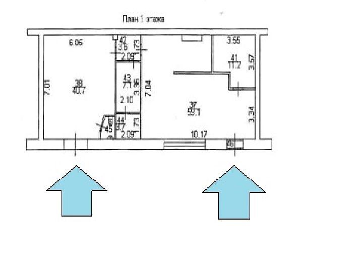 Сдам торговую площадь, 128м²