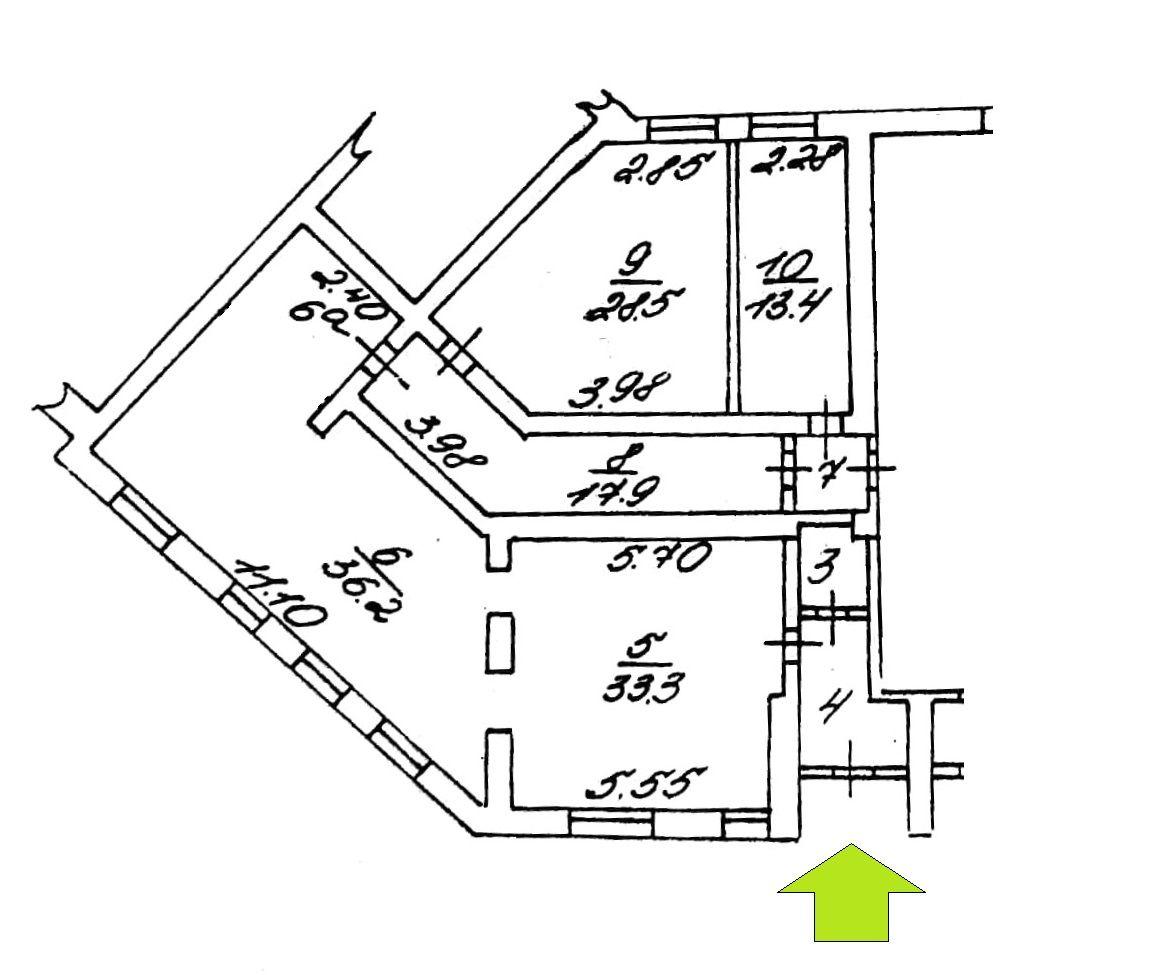 Сдам торговую площадь, 142,5м²