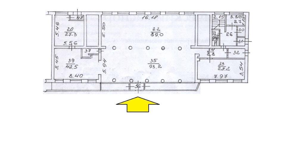 Сдам торговую площадь, 328м²