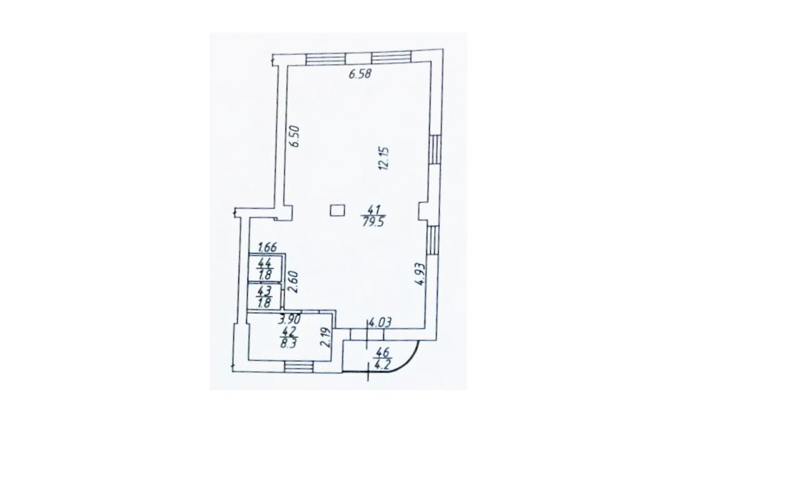 Сдам торговую площадь, 78м²