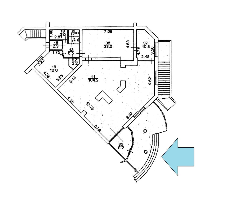 Сдам торговую площадь, 191м²