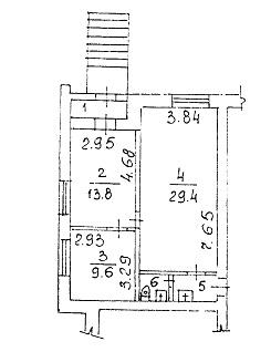 Сдам торговую площадь, 61м²