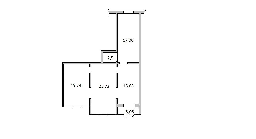 Сдам торговую площадь, 81м²