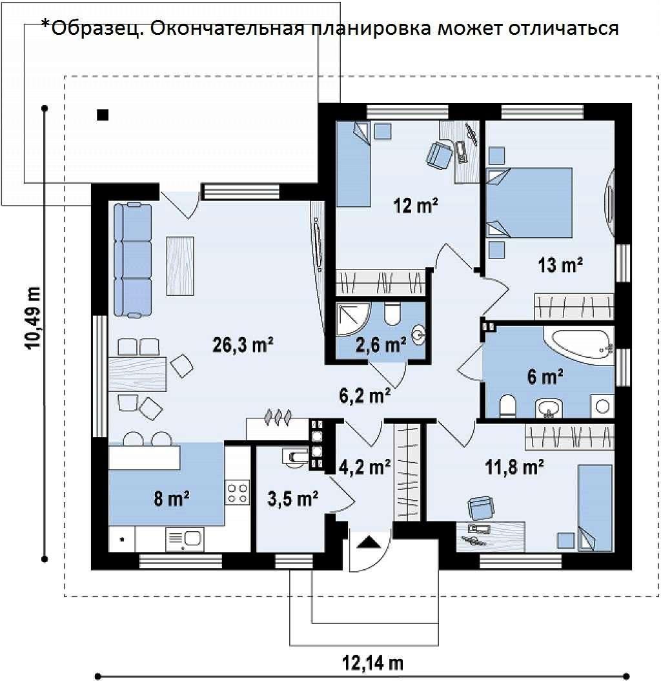 Продам Деревянный, 120м²